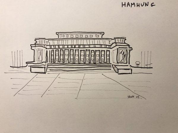 Le théâtre de Hamhung