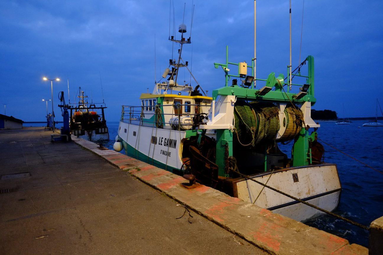 Des chalutiers au Port du Croisic