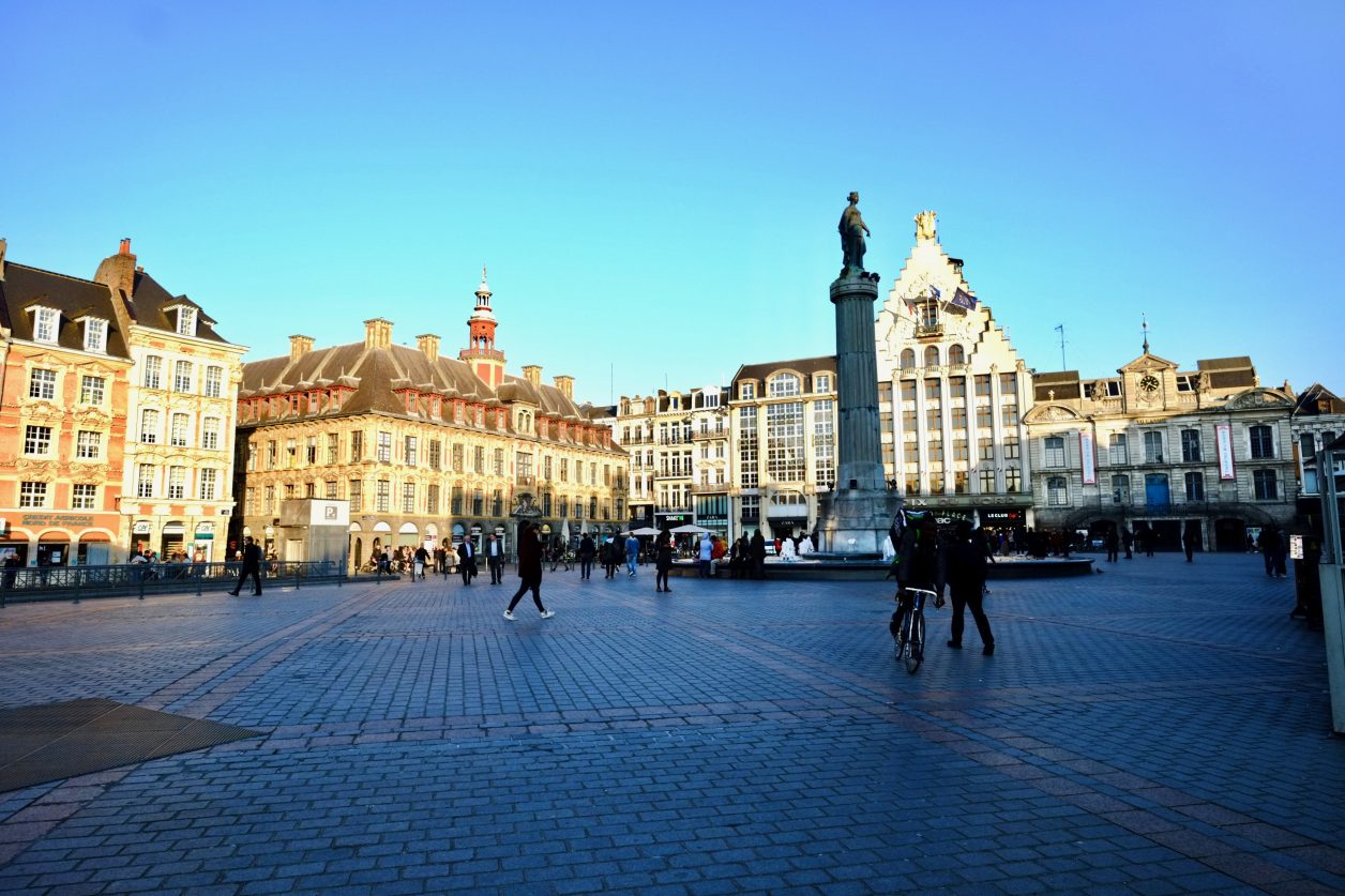 La colonne et la déesse de la Grand-Place de Lille