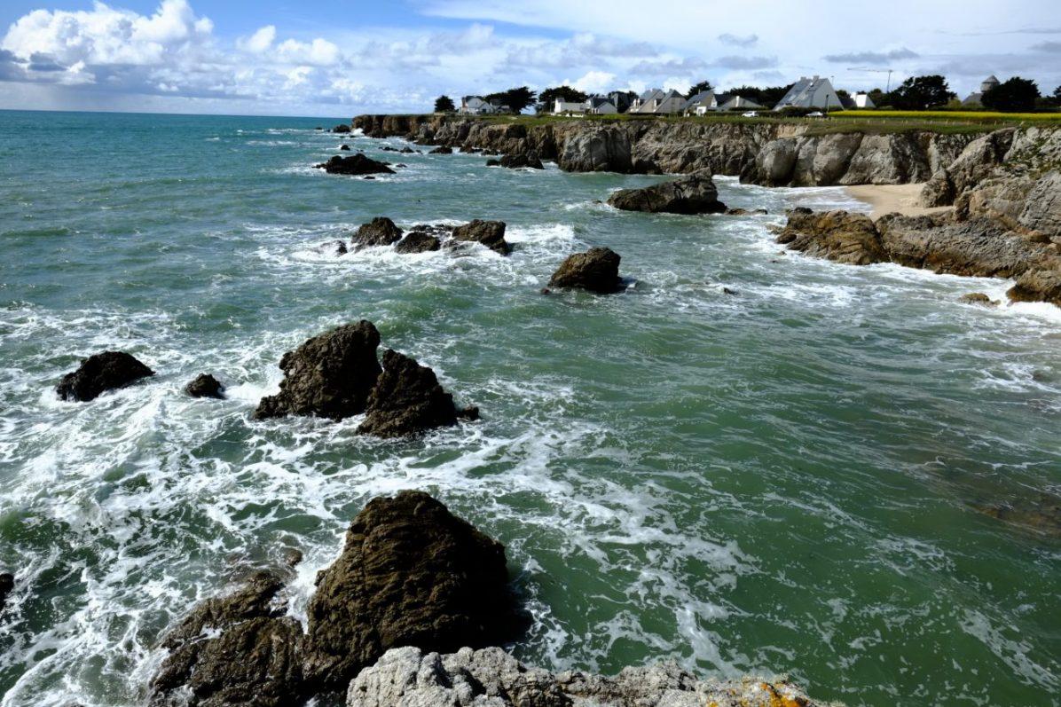 La côte sauvage du Pouliguen