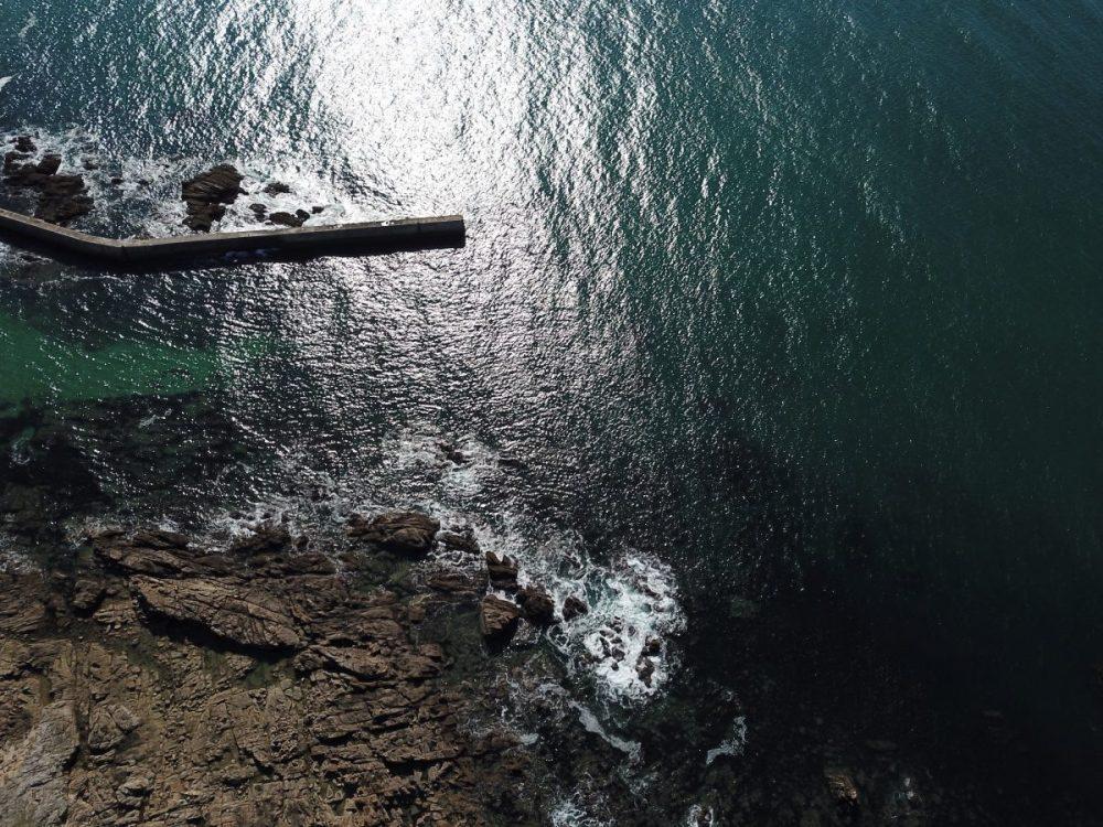 La digue du port Saint-Michel
