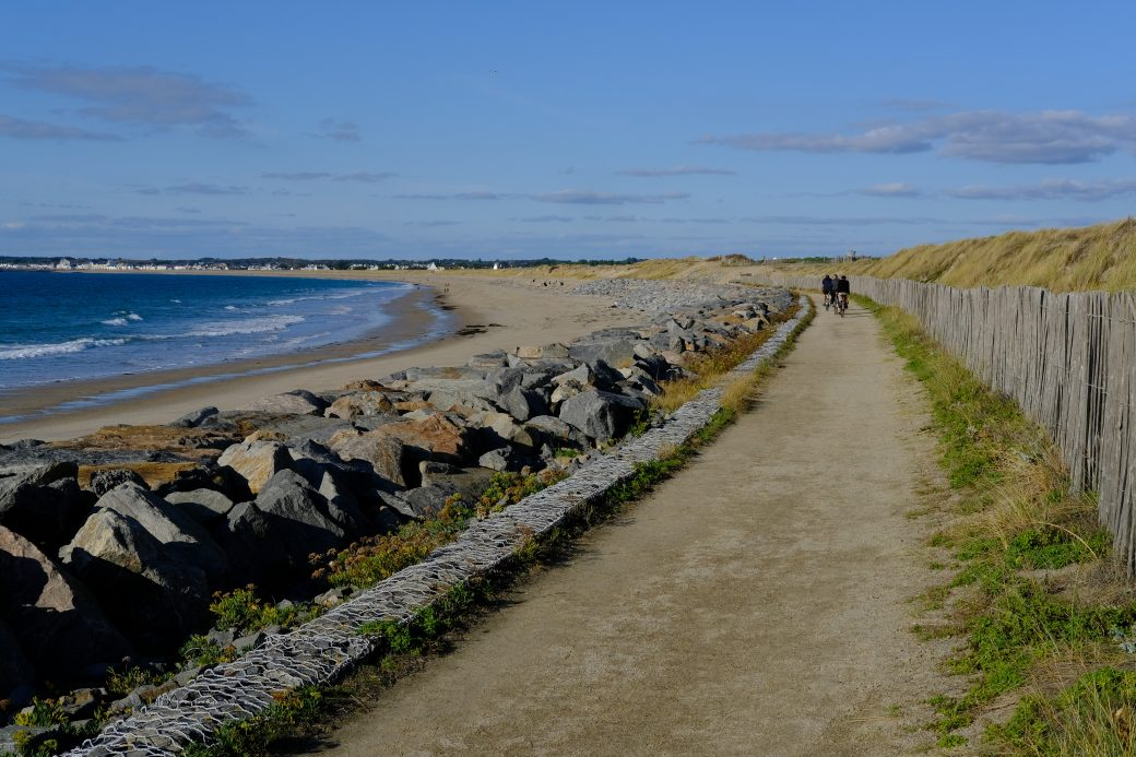 L'une des plus grandes plages de la région