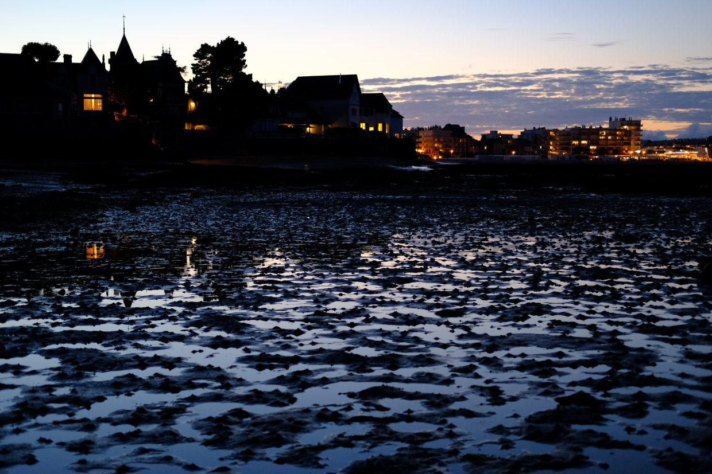 La pointe de Penchâteau à marée basse