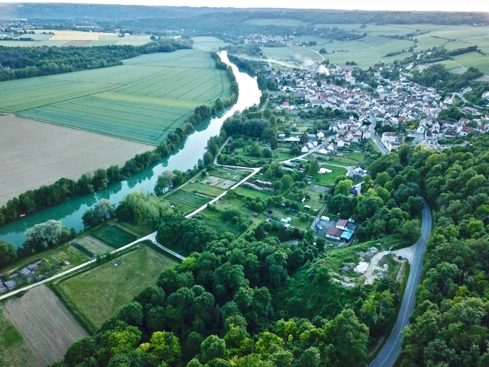 La vallée de la Marne dans l'Aisne