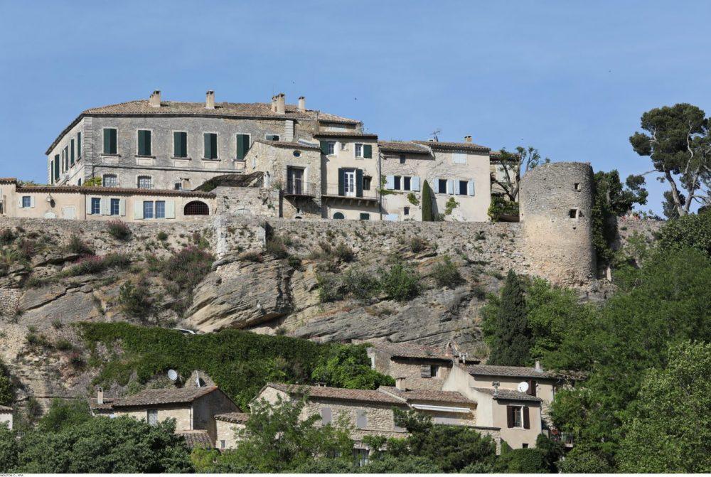 Les jolies maison de Menerbe dans le Luberon