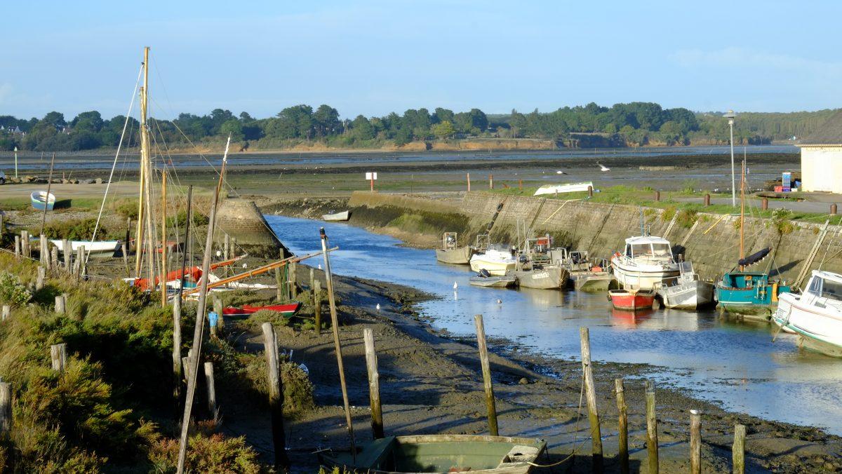 Le petit port de Kercabellec sur la Presqu'île de Guérande