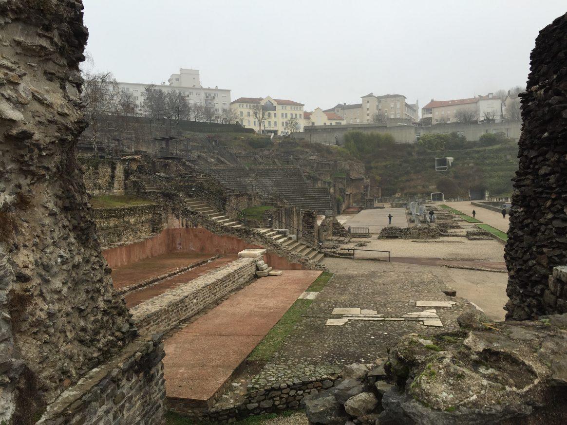 Le Théâtre romain, l'une des choses à faire à Lyon