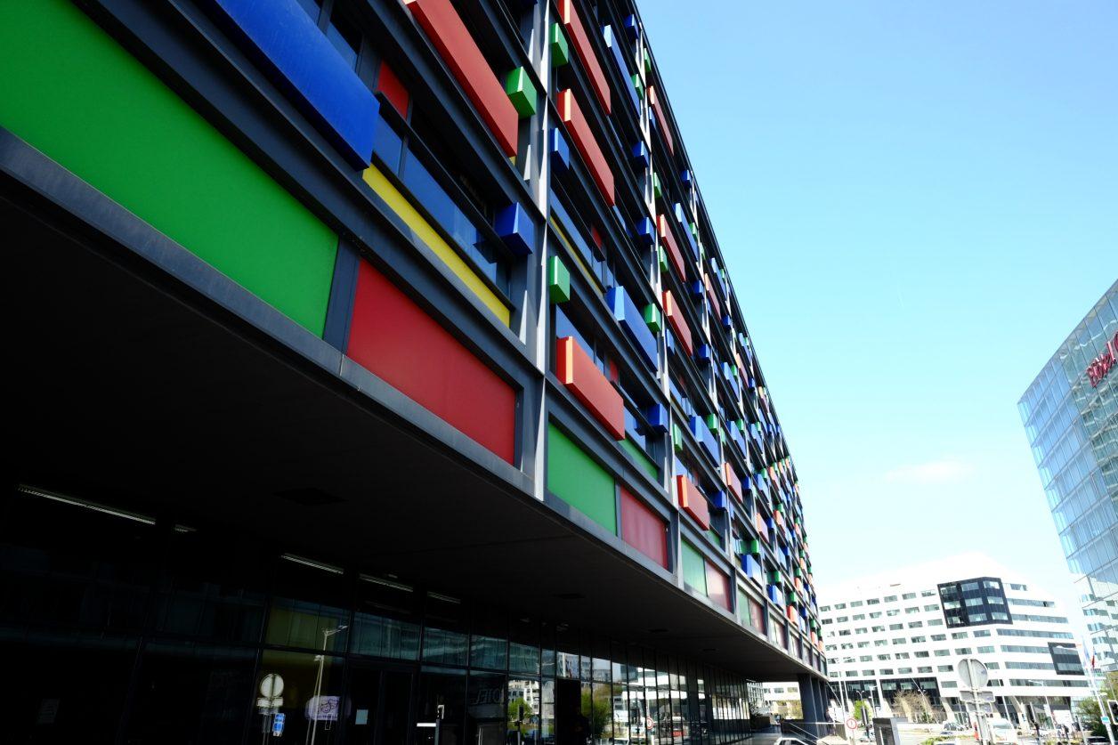 Un immeuble étrange dans le centre de Lille