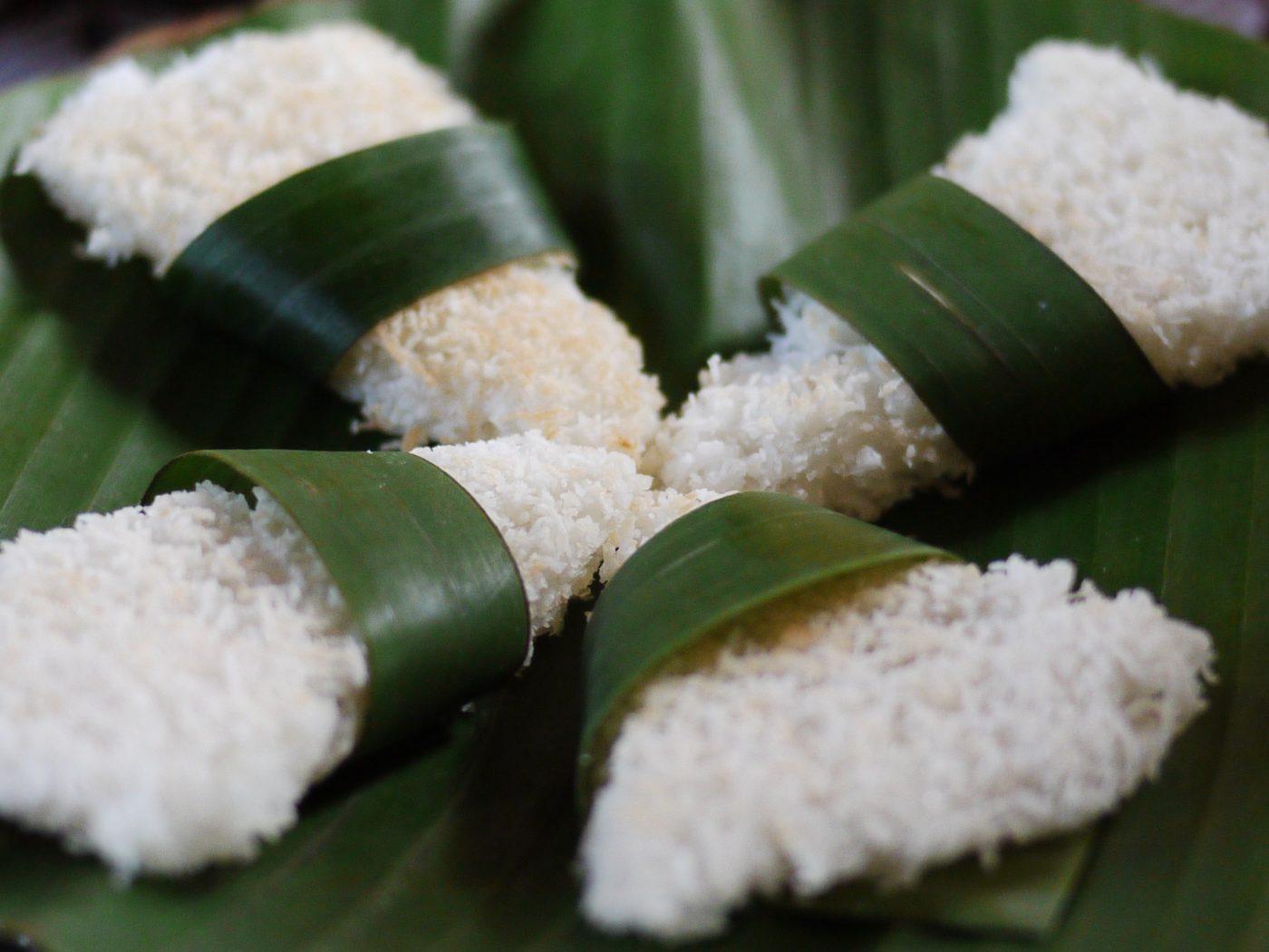 L'esthétique des plats en Indonésie