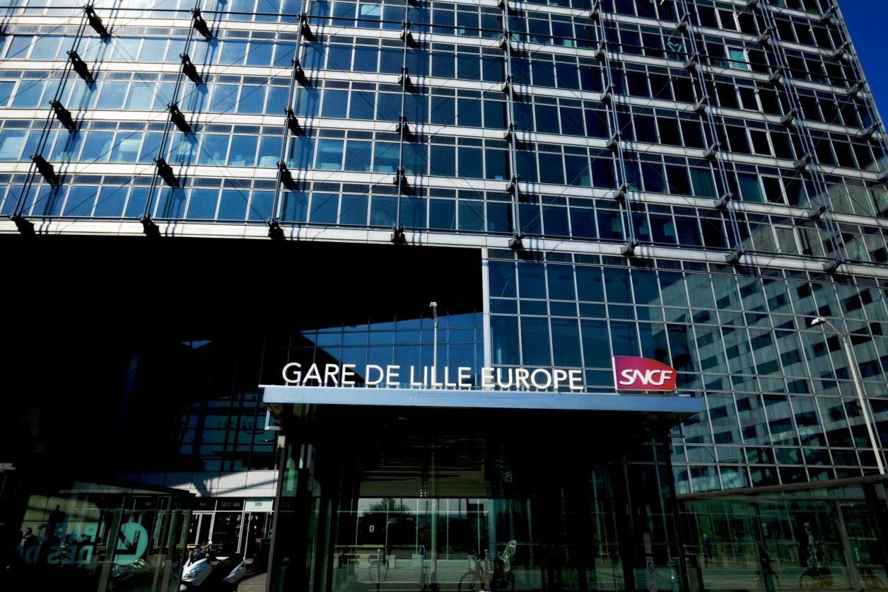 Une des deux gares à Lille