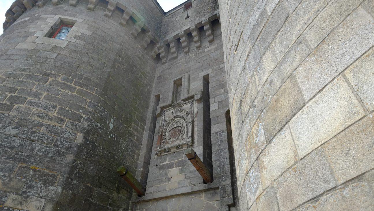 L'une des portes de la ville fortifiée de Guérande