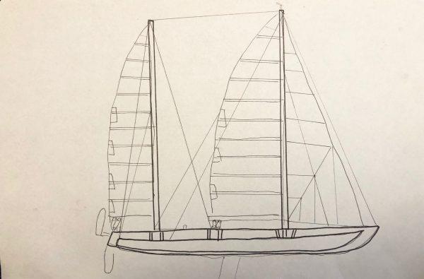 Manureva ou Pen Duick IV un navire sombré coprs et âmes