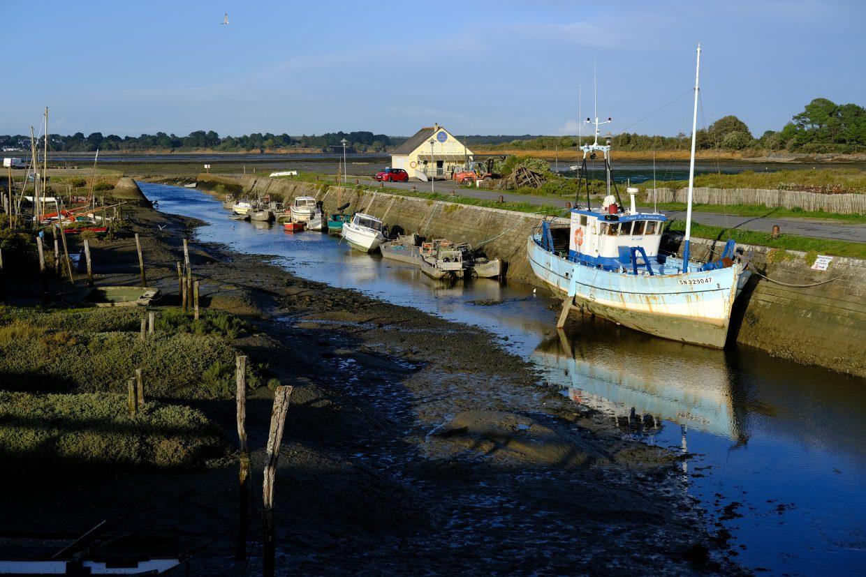 Kercabellec, l'un des plus beaux ports de la côte Atlantique