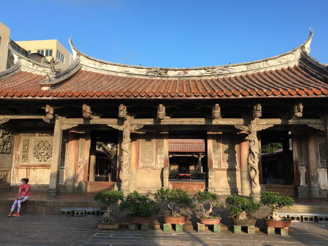 Un temple traditionnel, photo Sokha Keo
