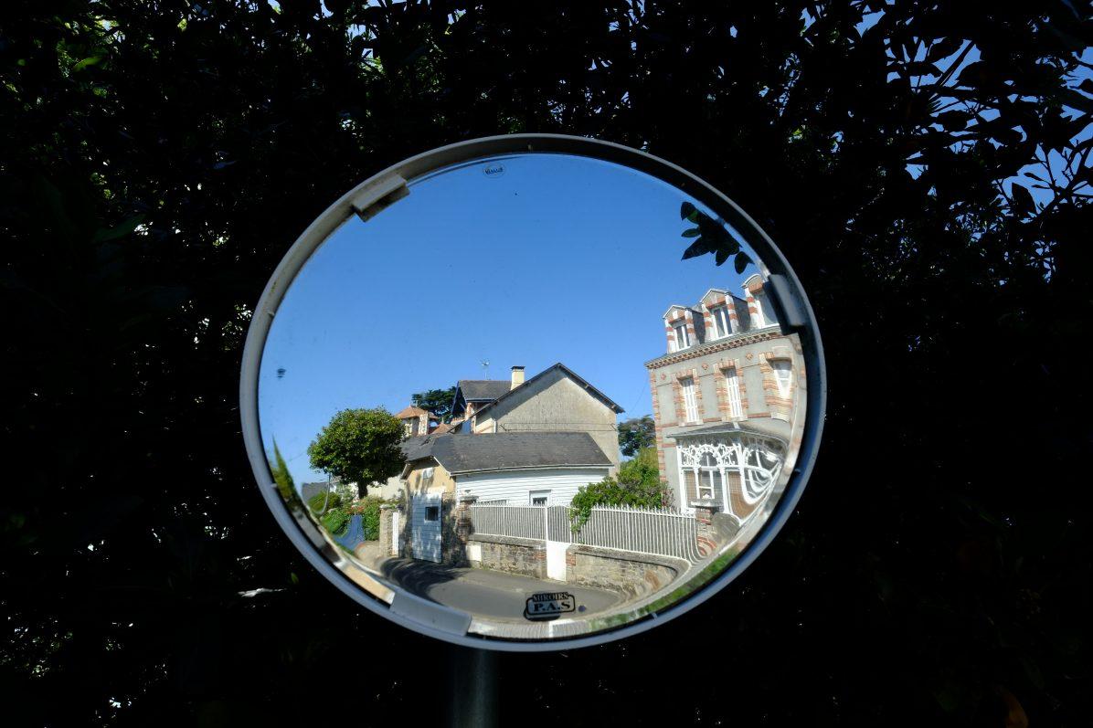 Une vue insolite d'une rue du Pouliguen