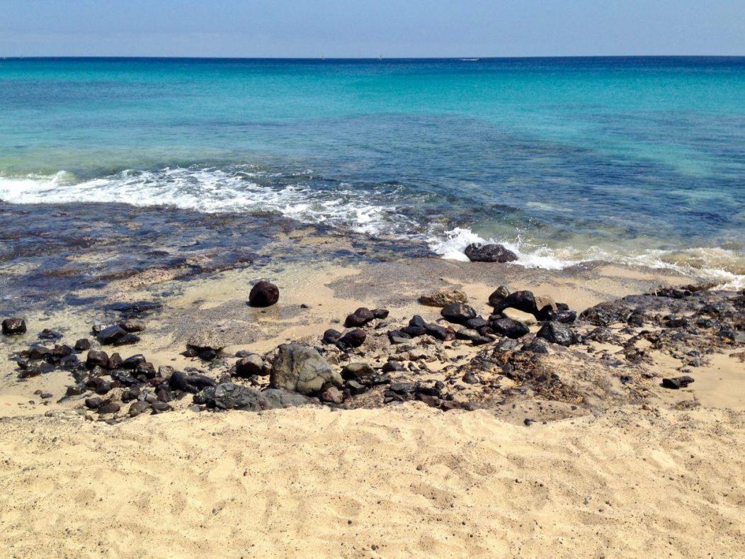 Dans le sud-est de l'île de Fuerteventura