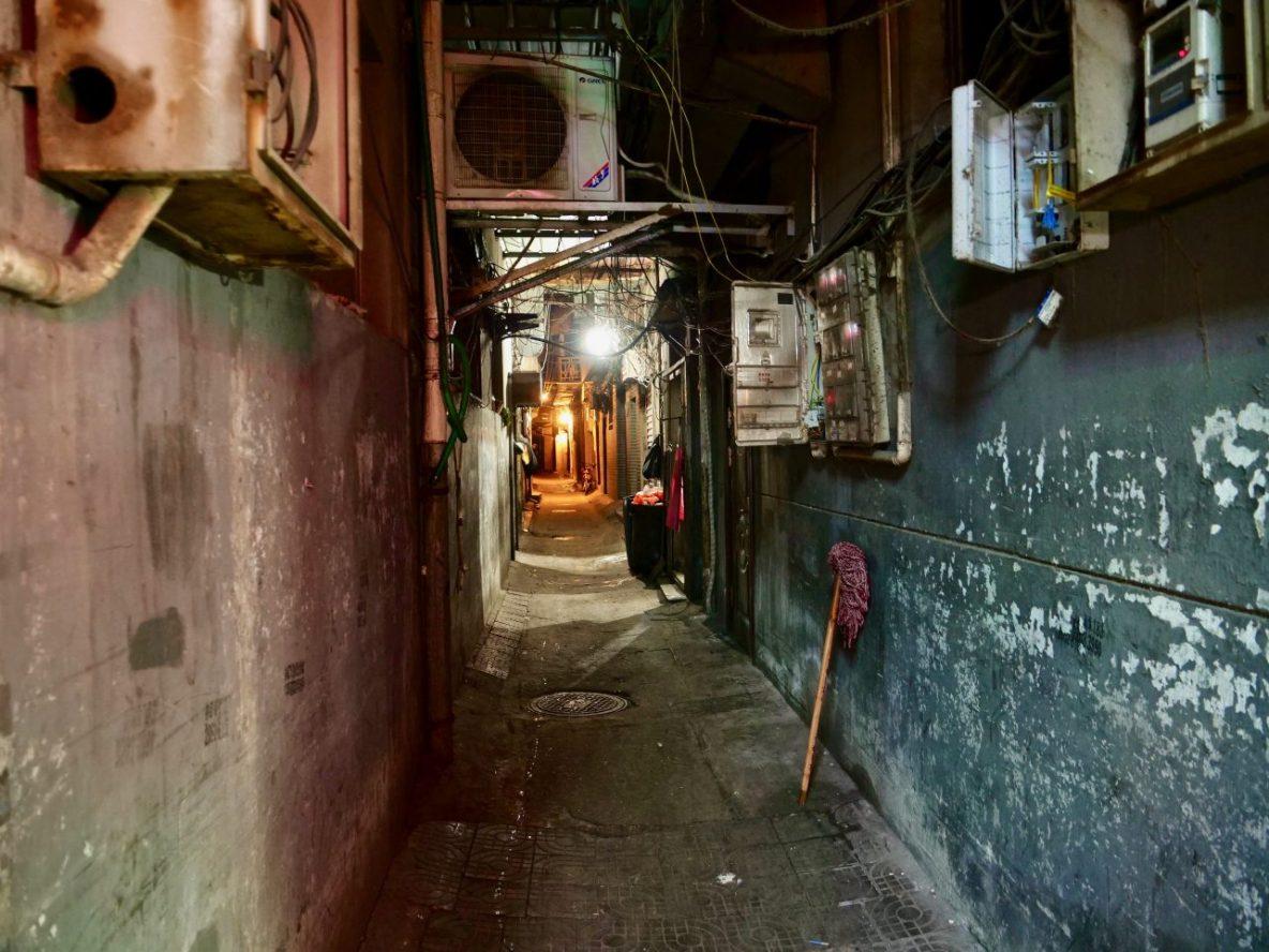 Dans les ruelles du quartier musulman de Xi'an