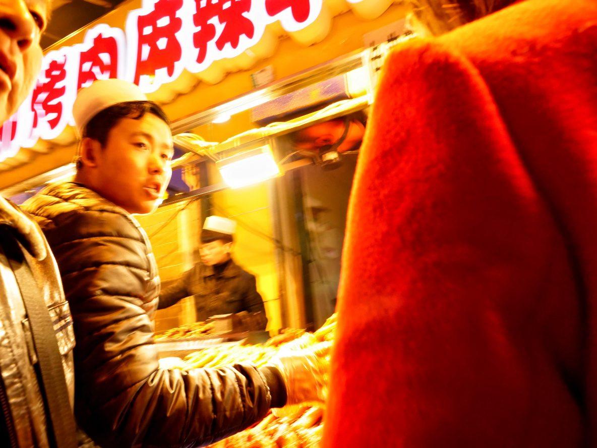Dans les rues du grand souk de Xi'an