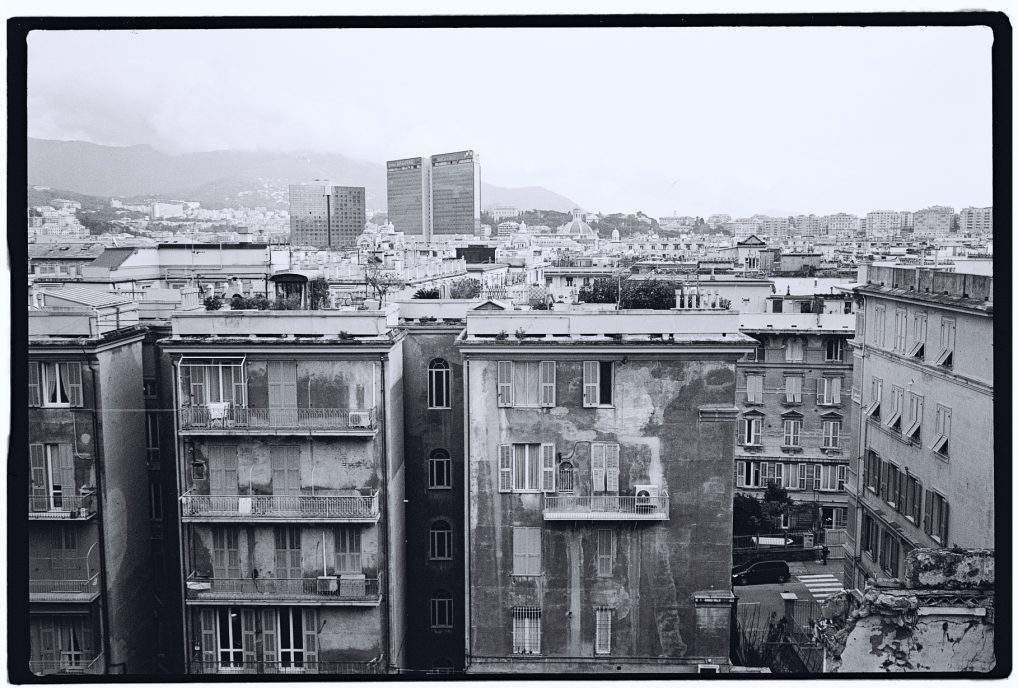 Gênes une ville à l'état brut