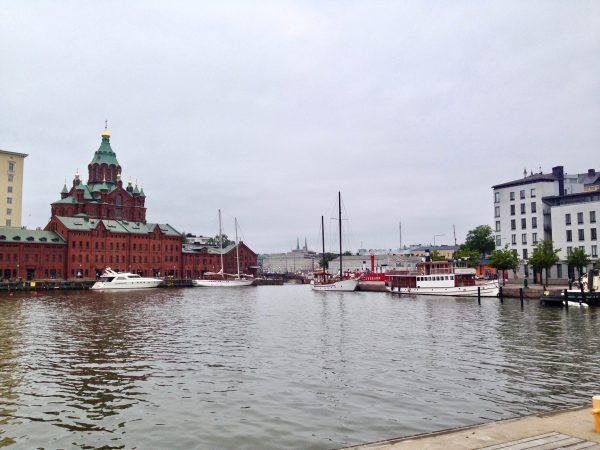 La cathédrale Uspenski rappelle la présence russe pendant plus de 100 ans