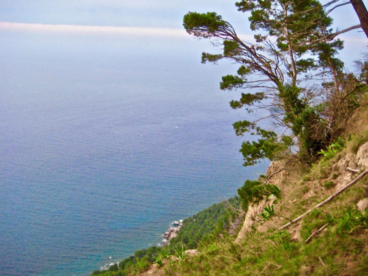 La côte ouest de l'île de Majorque