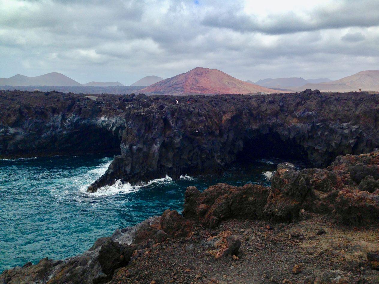 La partie volcanique de l'île de Lanzarote. Yann Vernerie