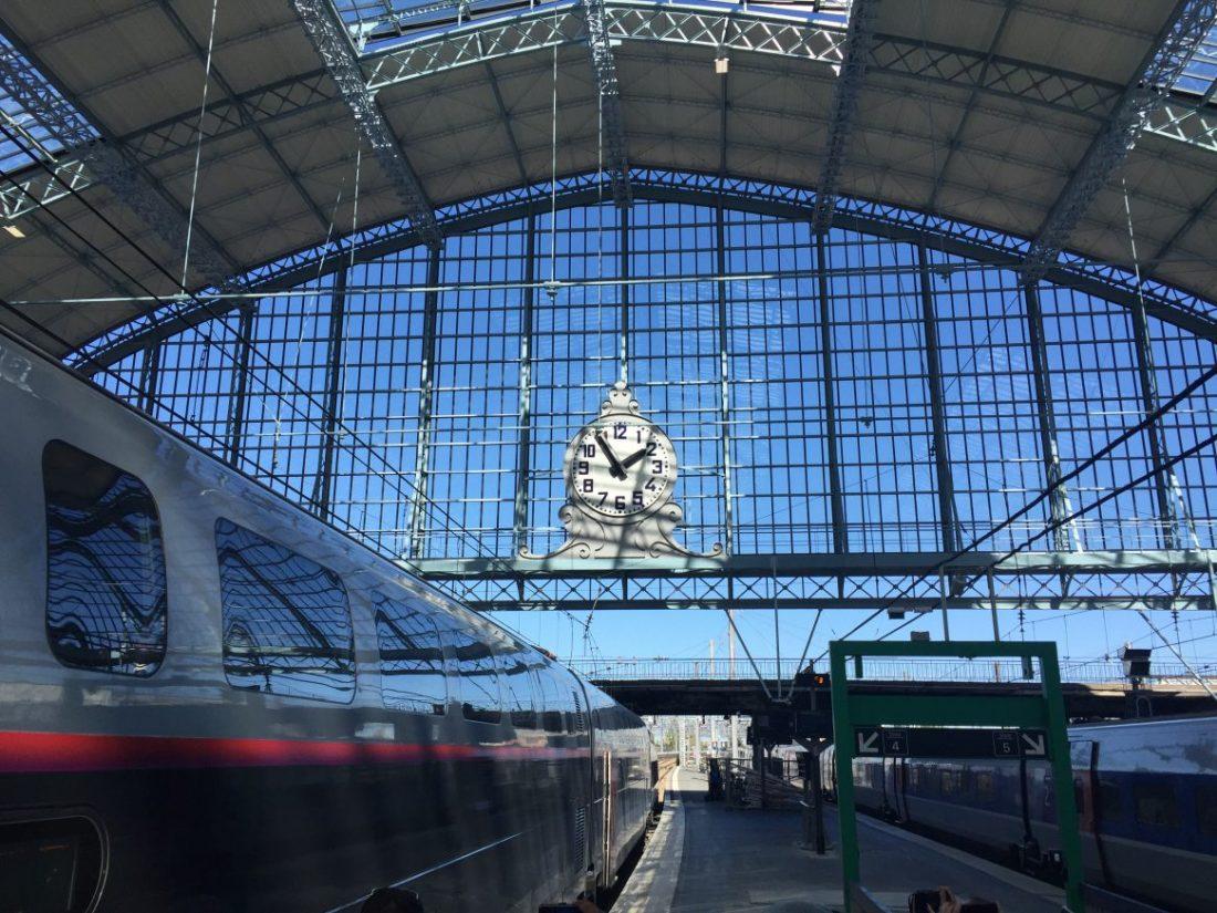 La verrière de la gare de Bordeaux