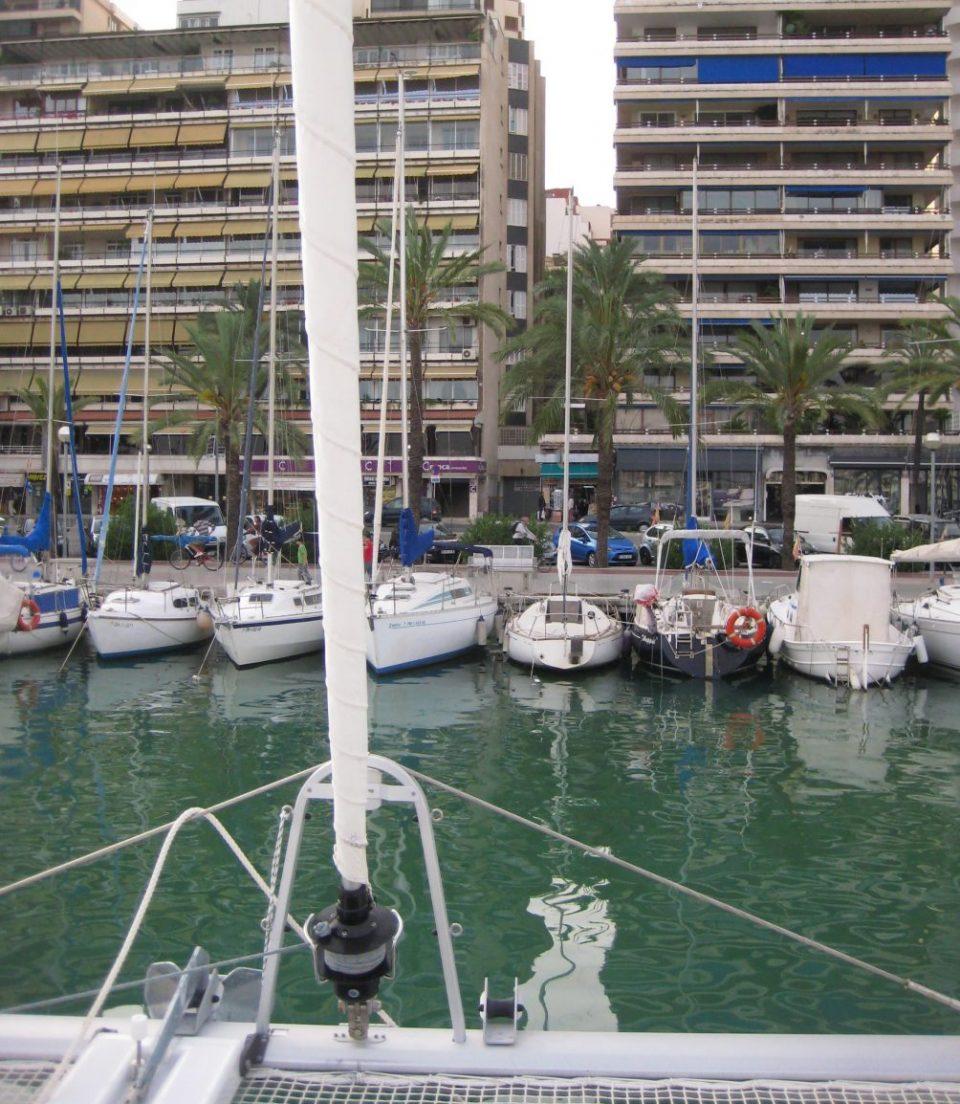 La vue depuis le port de Palma de Majorque