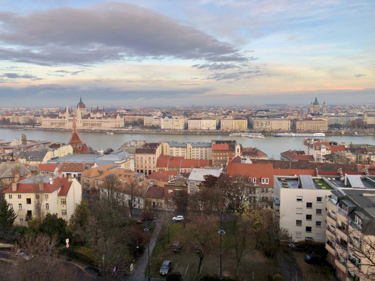 L'une des plus belles vues de Budapest