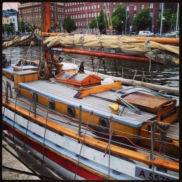 Sur les quais à Helsinki