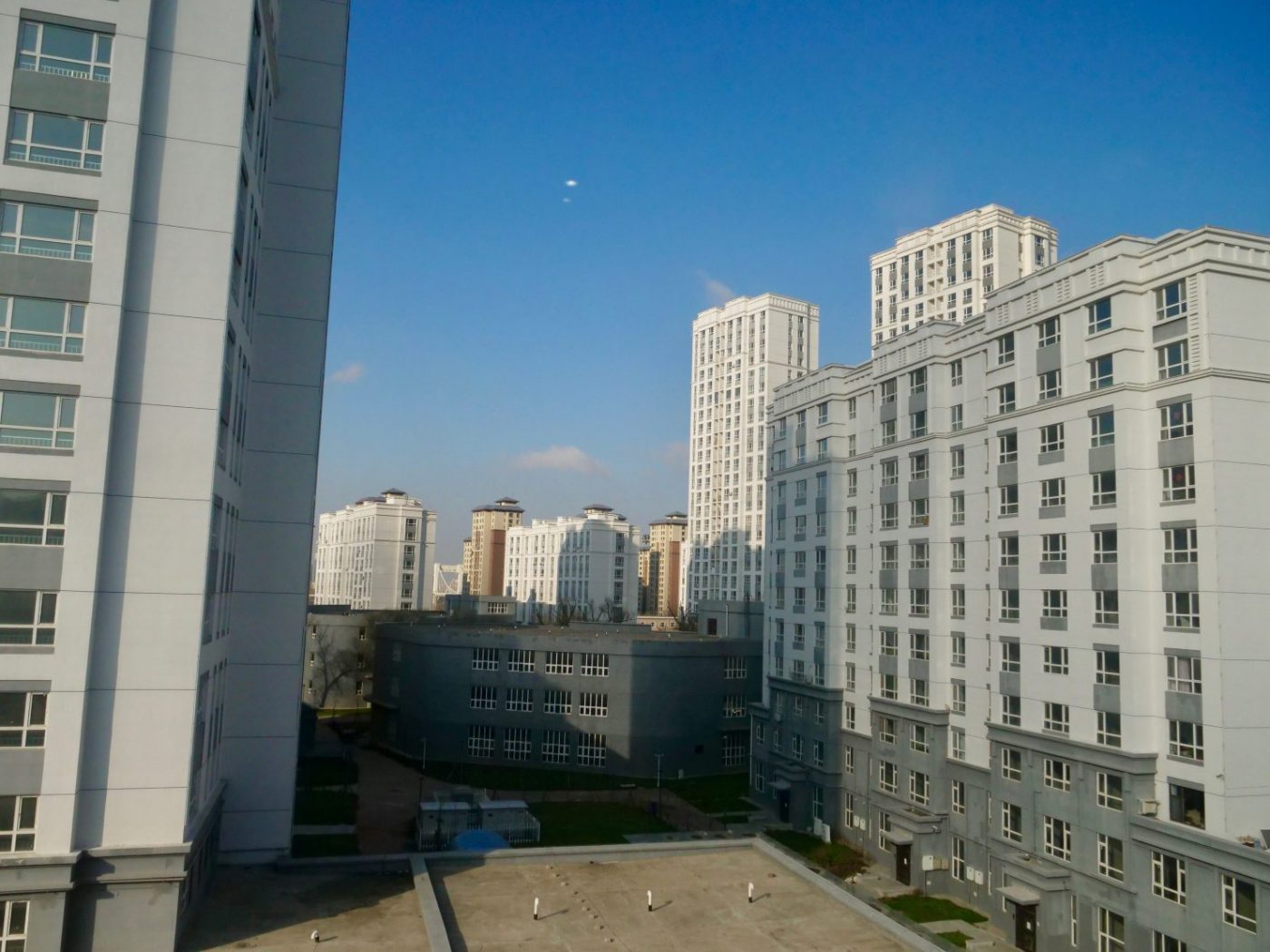 Un quartier de la ville de Yanji