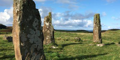 Un site mégalithique en Ecosse. photo Sokha Keo