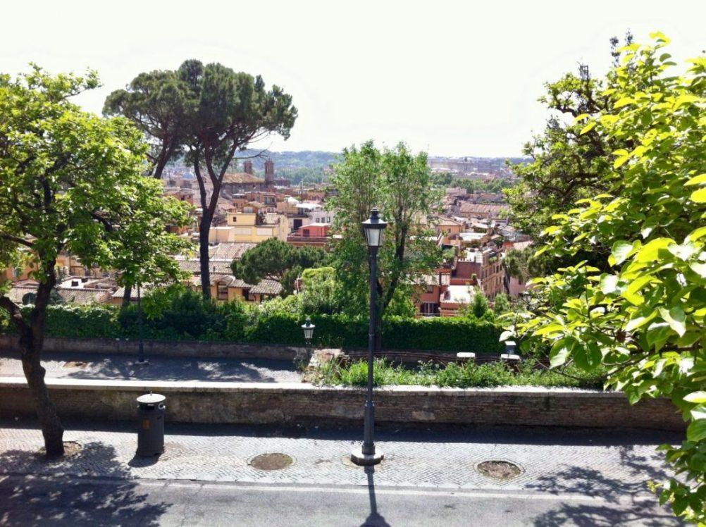 Une jolie vue sur Rome