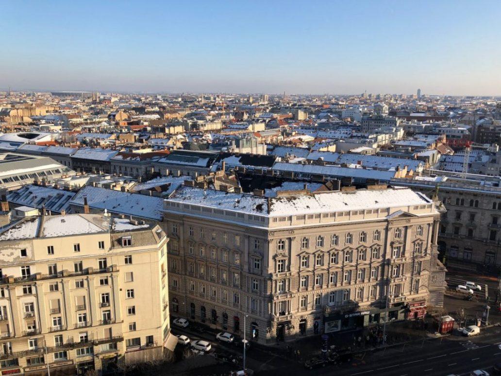 Une vue panoramique de Budapest