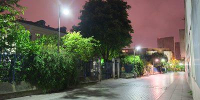 Balade dans les rues calmes et désertes du 13 ème arrondissement de Paris
