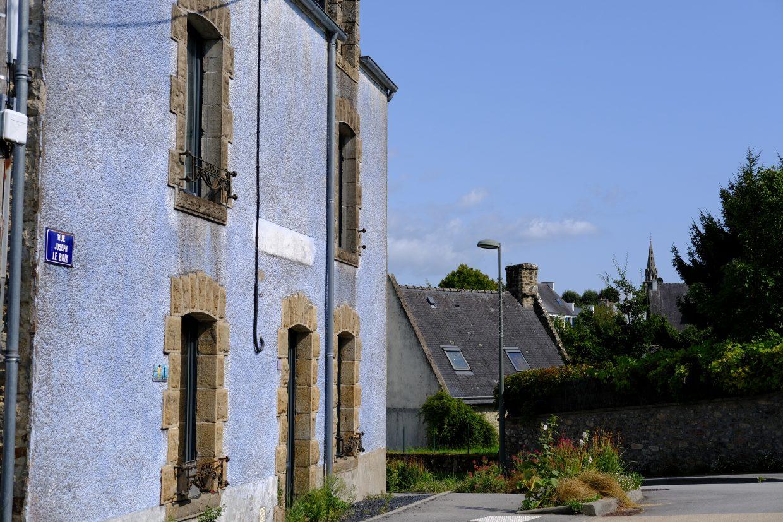 Dans les rues du Bono l'un des plus beaux ports du Morbihan