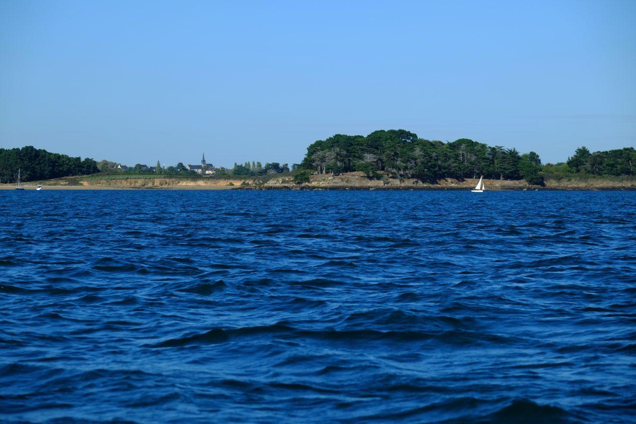 En navigation sur le golfe du Morbihan