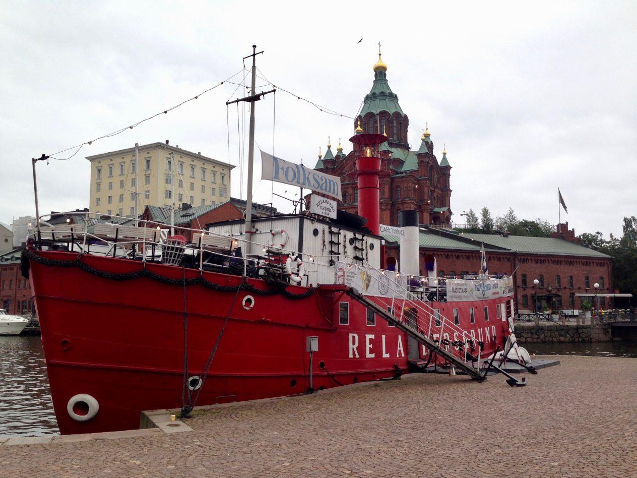 Helsinki, la plus grande ville de Finlande