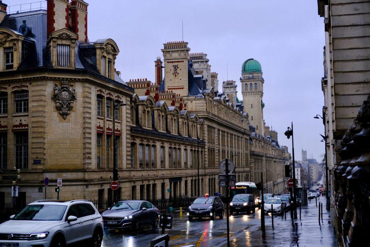 La Sorbonne, son observatoire et la rue Saint-Jacques dans le Cinquième arrondissement de Paris