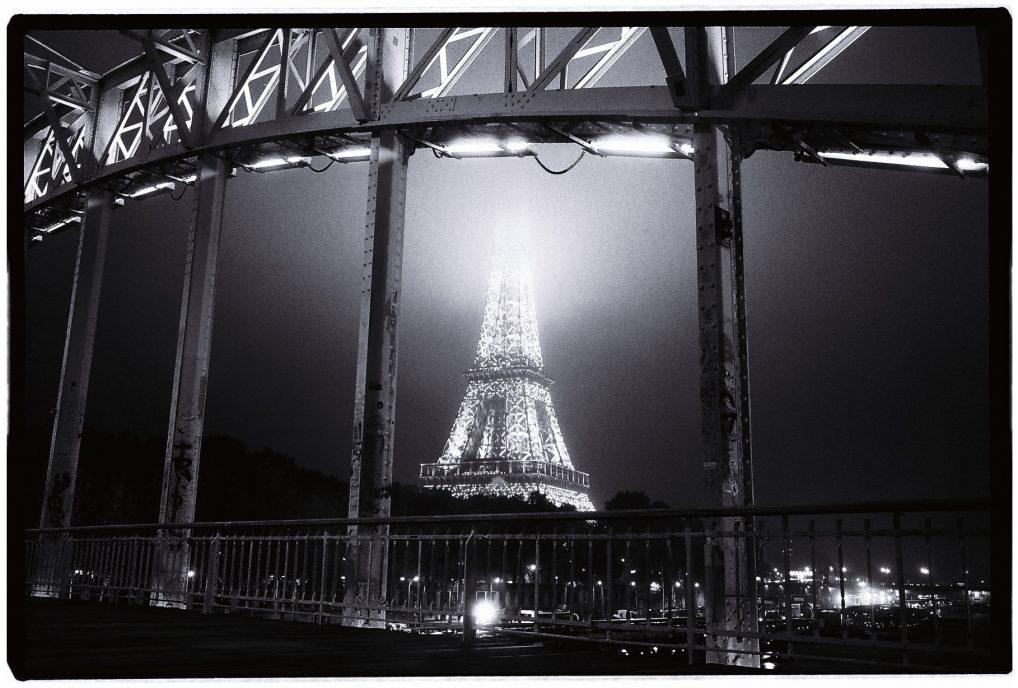 La Tour Eiffel depuis la passerelle Debilly