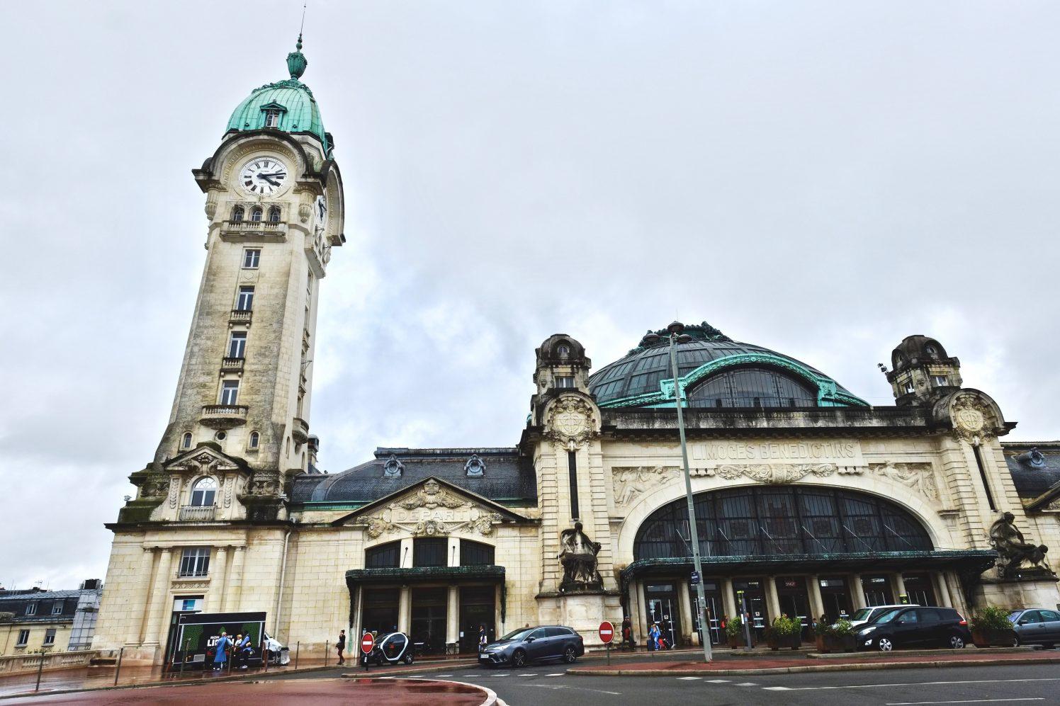 La belle gare de Limoges- Bénédictins