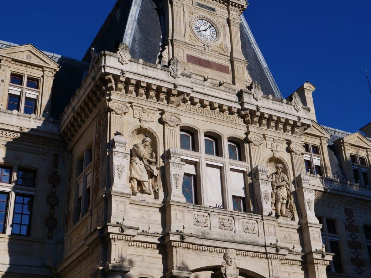 La belle mairie du douzième arrondissement de Paris