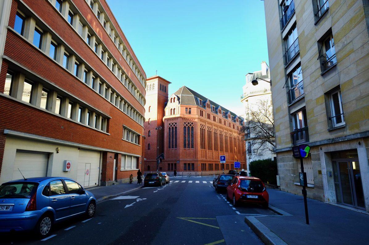 La chapelle du couvent Saint-François de Paris