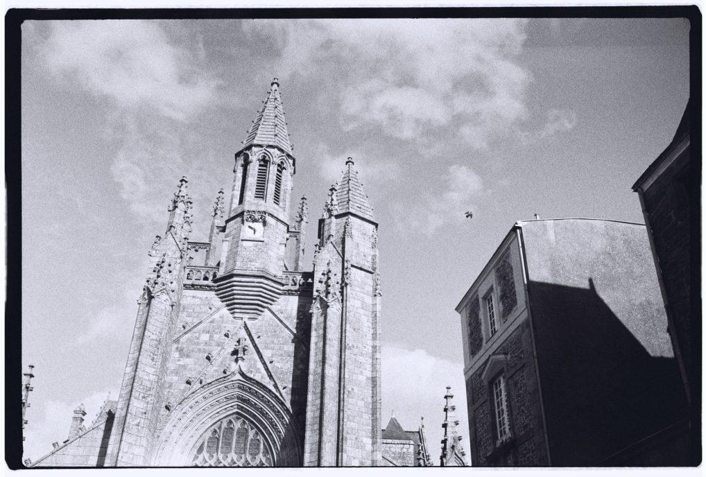 La collégiale Saint-Aubin à Guérande
