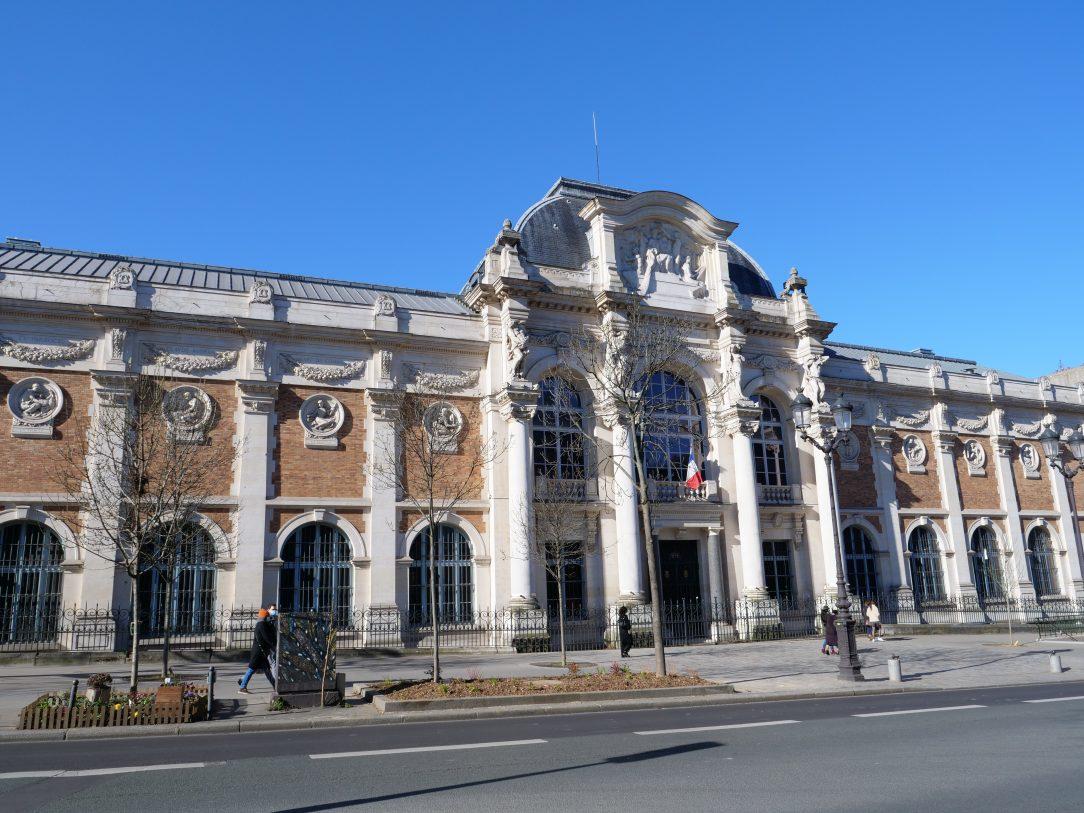 La façade de la manufacture des Gobelins