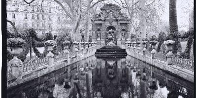 La fontaine de Médicis dans les jardins du Luxembourg à Paris