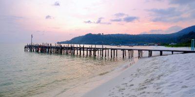 La plage 4K de Koh Rong au Cambodge