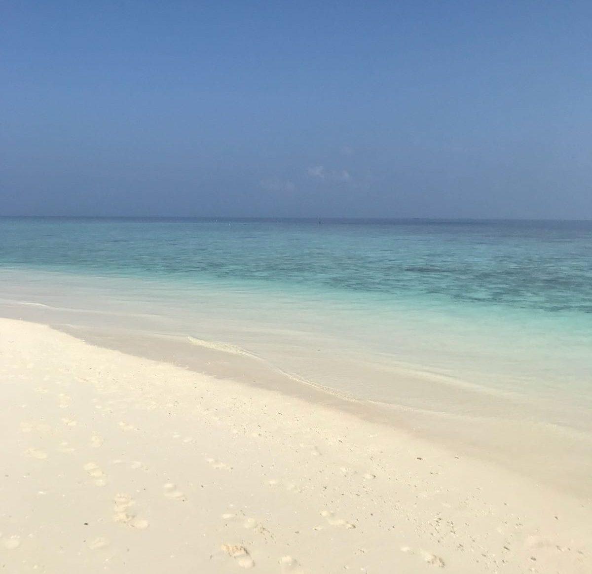 La playa Azul à Cuba