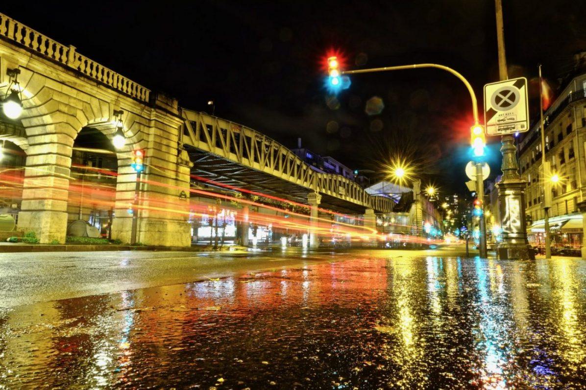 La station métro quai de la Gare sur les quais de Seine