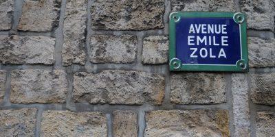 L'avenue Emile Zola dans le 15 ème arrondissement de Paris